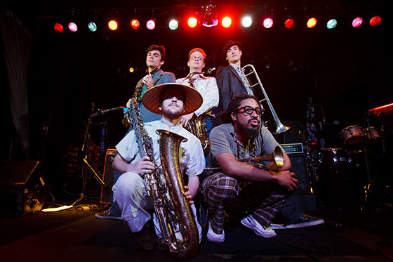 AFS Horns Promo Photo